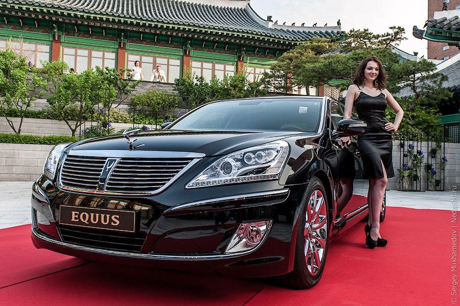 Представительский седан Hyundai Equus