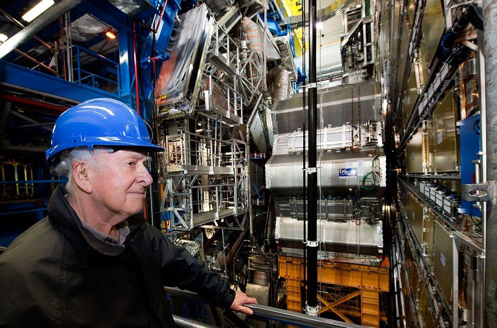 Английский физик Питер Хиггс