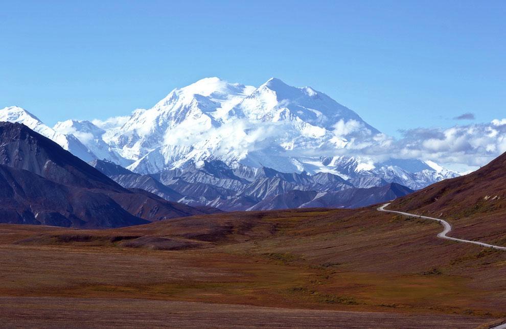 Северная Америка – гора Мак-Кинли, 6194 м