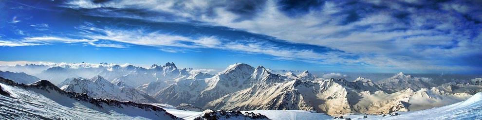 Европа – гора Эльбрус, 5642 м
