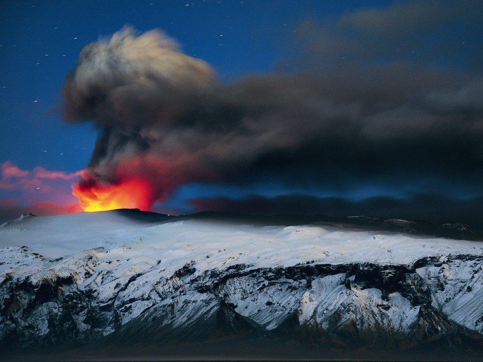 Эйяфьядлайёкюдль, Исландия