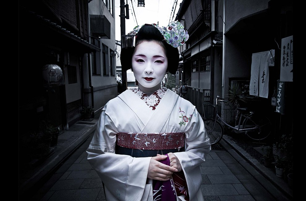 В переулочках в Киото