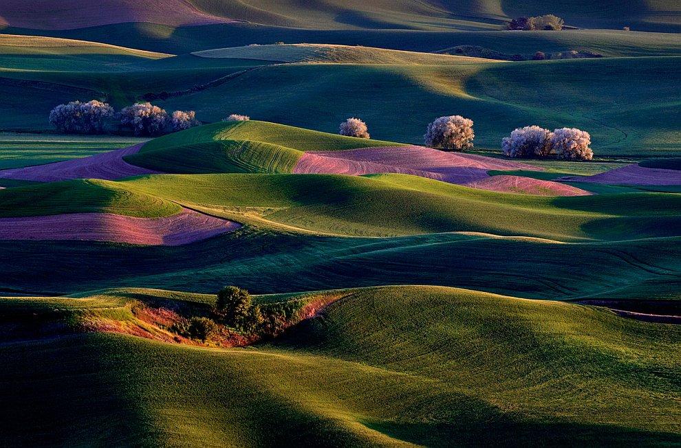 Пейзажи штата Вашингтон