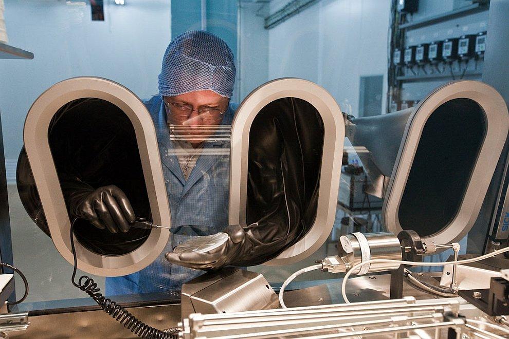Как делают солнечные батареи для космоса