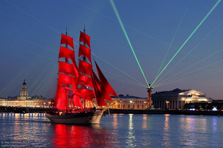 Алые паруса 2012 в Санкт-Петербурге