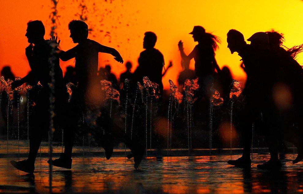 Во время музыкального фестиваля в испанском городе Арганда-дель-Рей