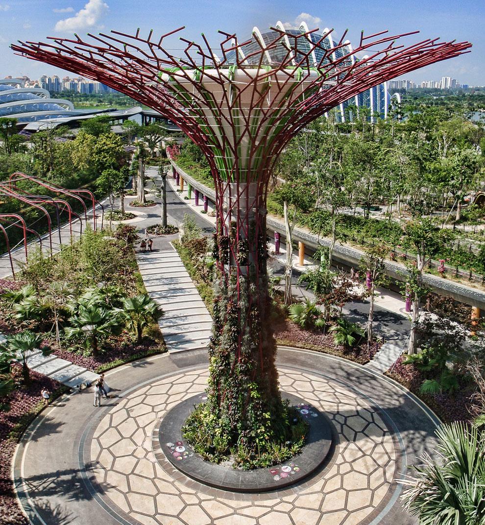 Gardens by the Bay: футуристические прибрежные сады в Сигнапуре