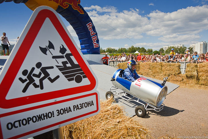 Red Bull Soapbox Race: гонки на тарантасах