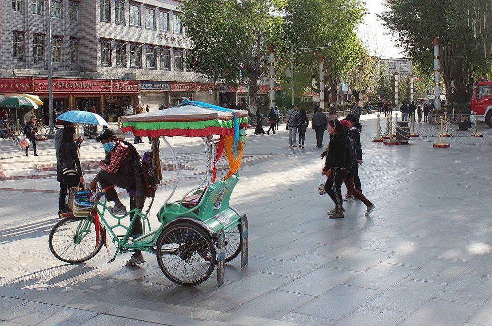 Тибетское такси