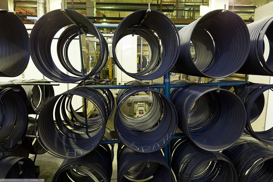 Как производят шины