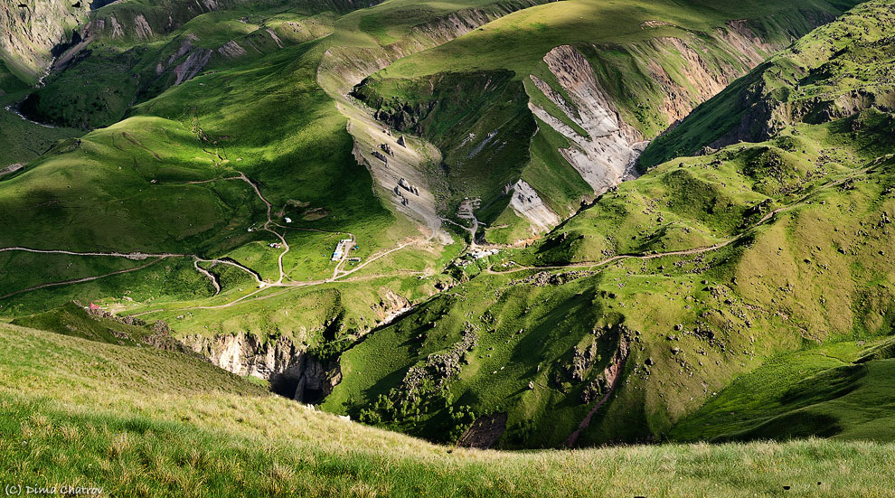 Во время экспедиции «Эльбрус-Монблан»: плюшевая долина
