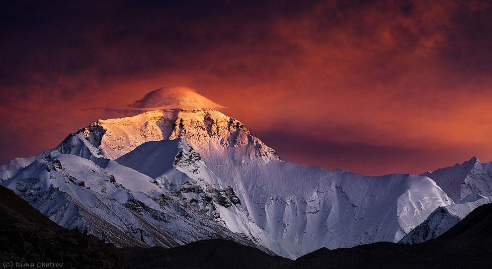 Эверест — высочайшая вершина мира