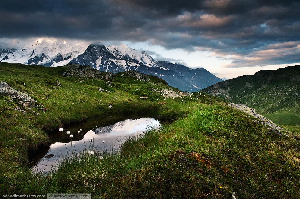 Монблан — высочайшая гора в Альпах