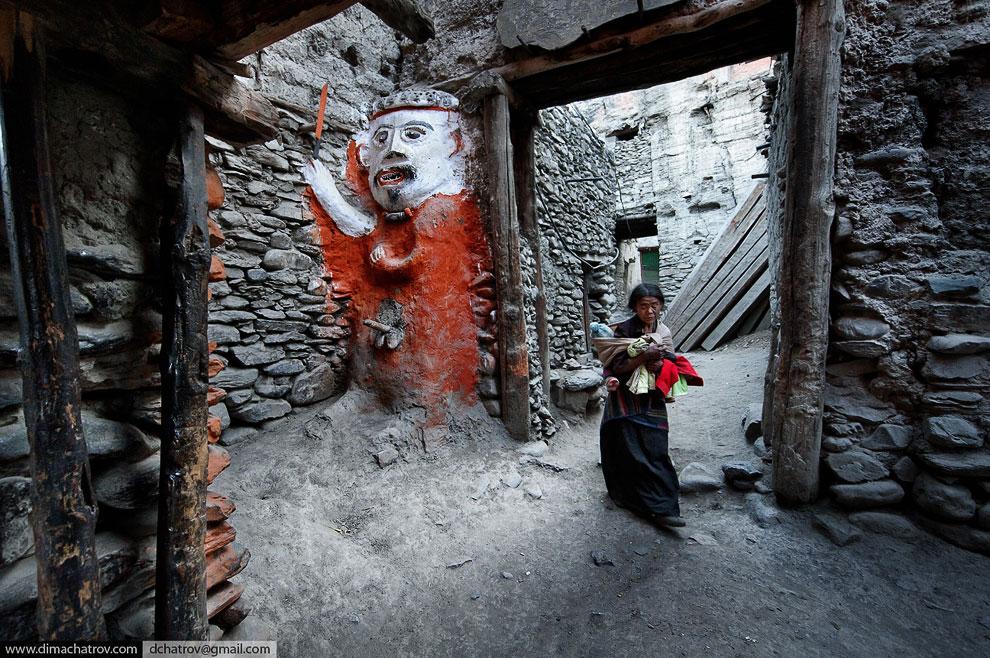 Тибетские мотивы. Городок Кагбени