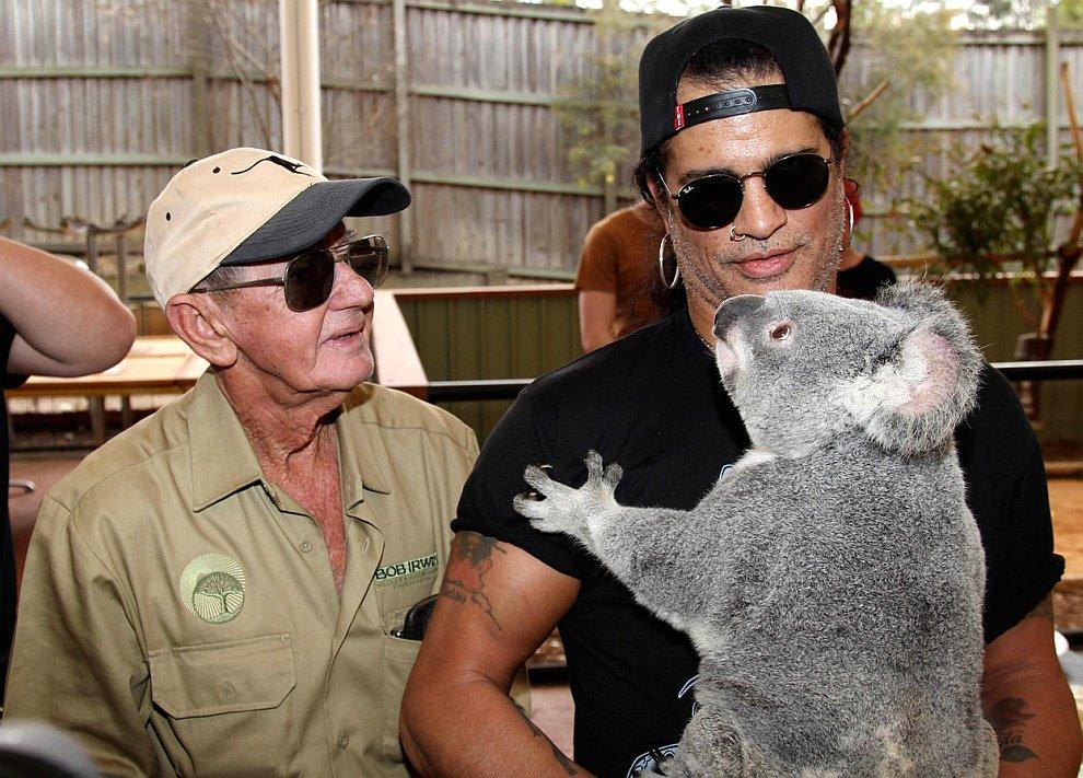 На презентации нового Фонда по защите дикой природы в Брисбене