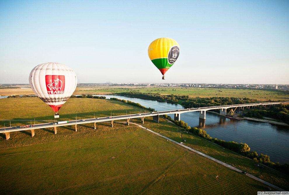 Фестиваль воздухоплавания 2012