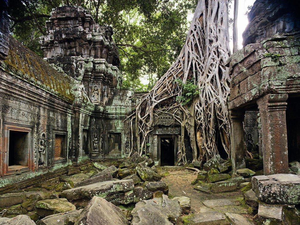 Та-Пром, Камбоджа