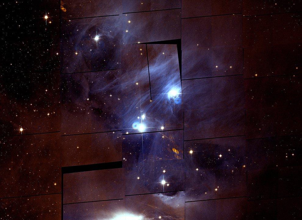 Туманность в созвездии Хамелеона