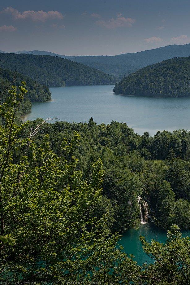 Национальный парк Плитвицкие озера в Хорватии