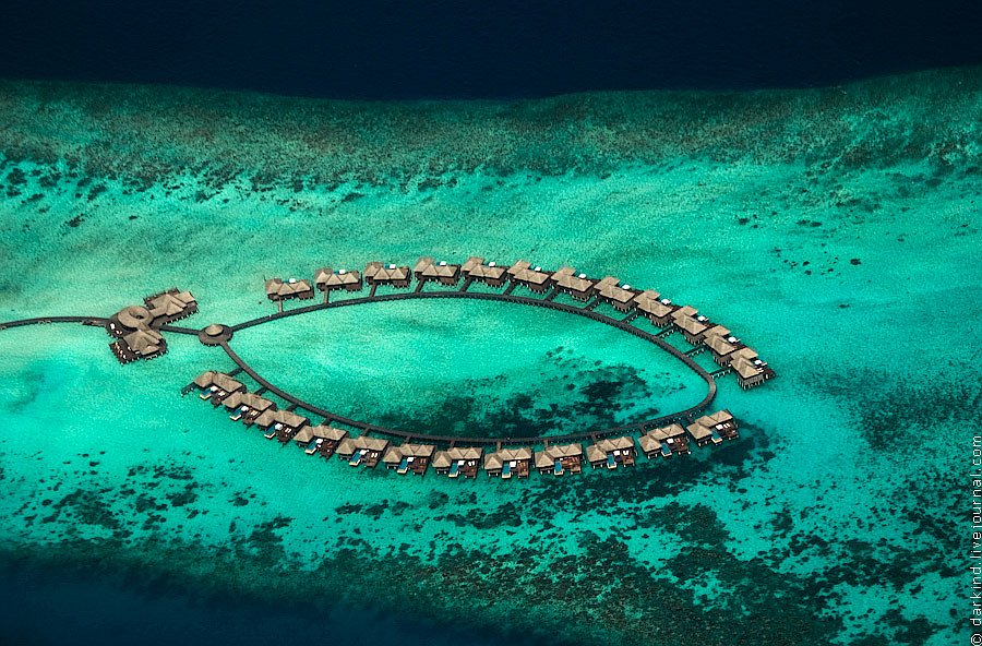 Мальдивы с высоты