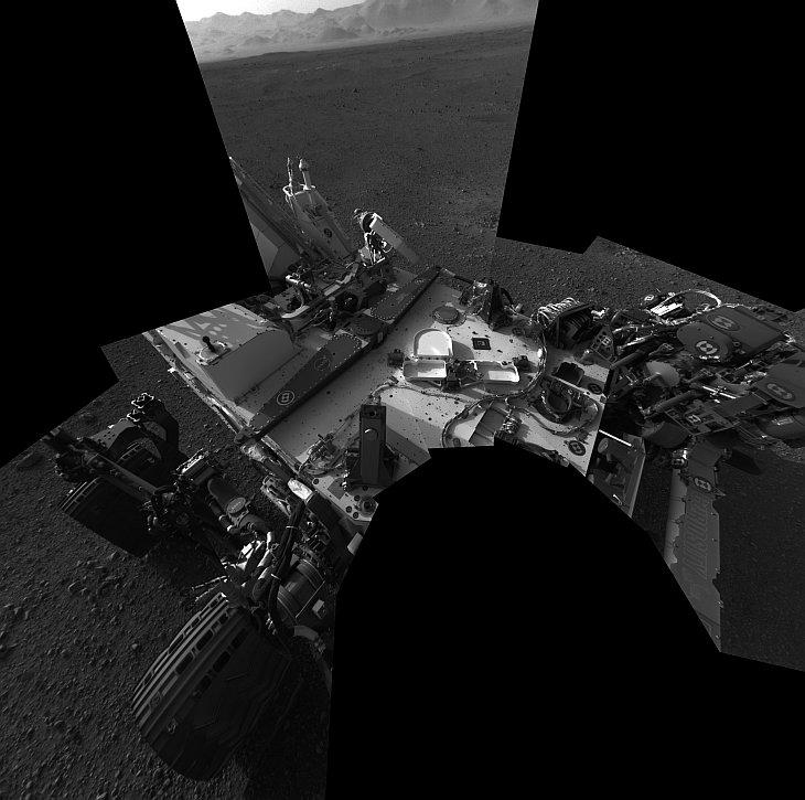 Первые фотографии Марса