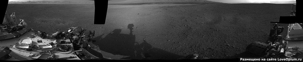 Панорама кратера Гейла