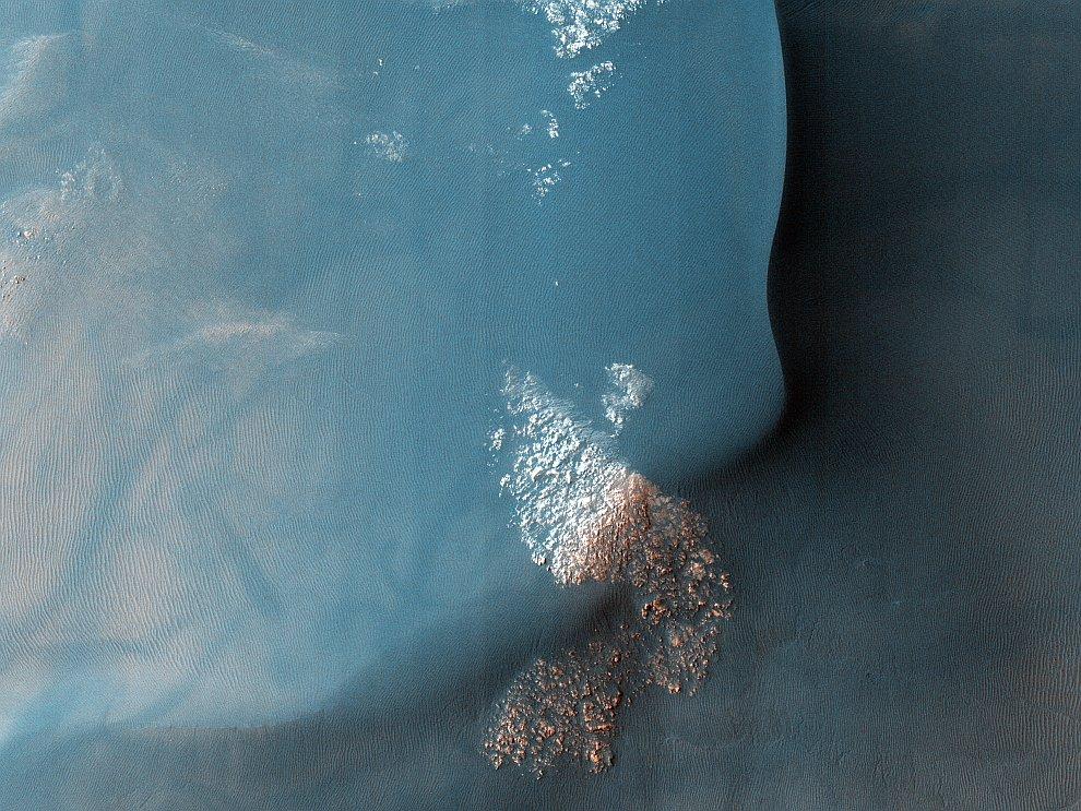 Дюна на Марсе, 2009 год
