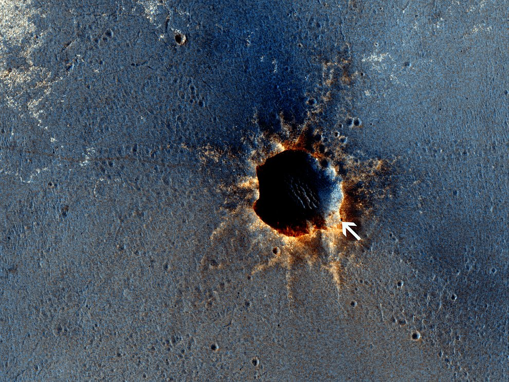 Панорама снятая марсоходом