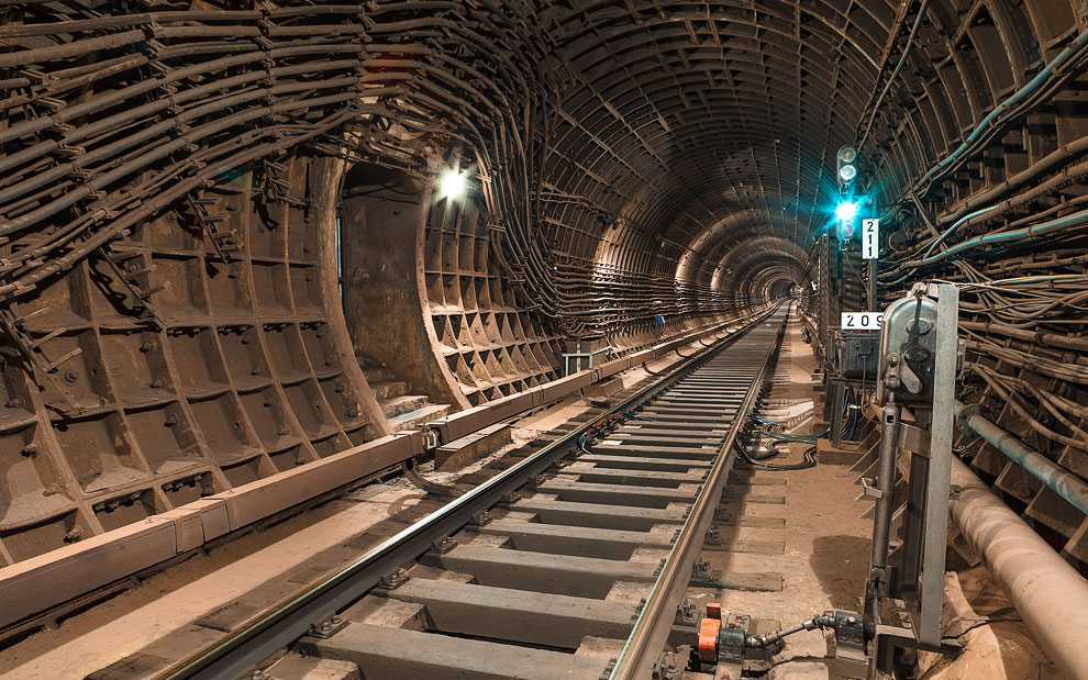 Подземные тоннели метро