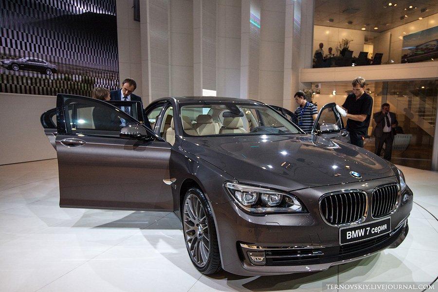 Мировая премьера новой BMW 7 серии