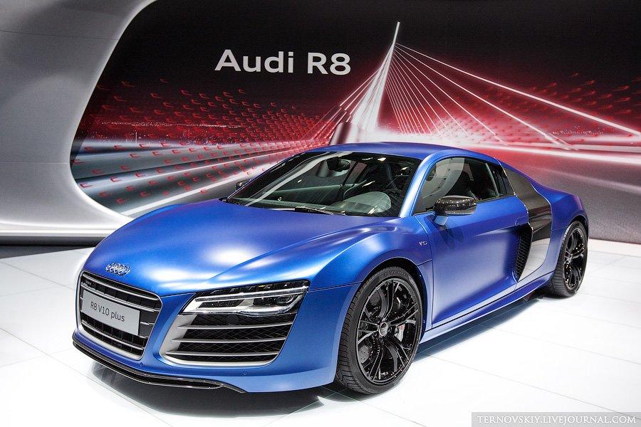 Премьера Audi R8