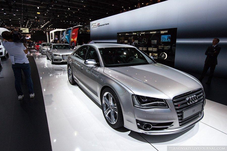 Премьера Audi S8