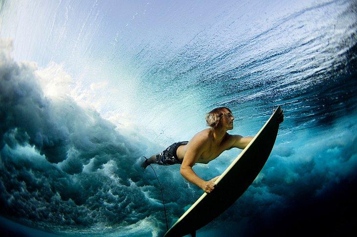 Серфинг на Фиджи