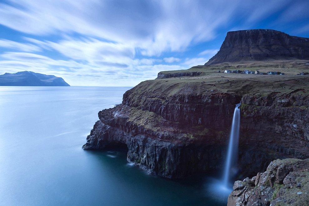 Сказочная деревня на Фарерских островах
