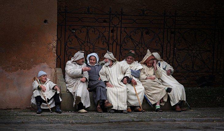 Беседа старцев в Шефшауэне
