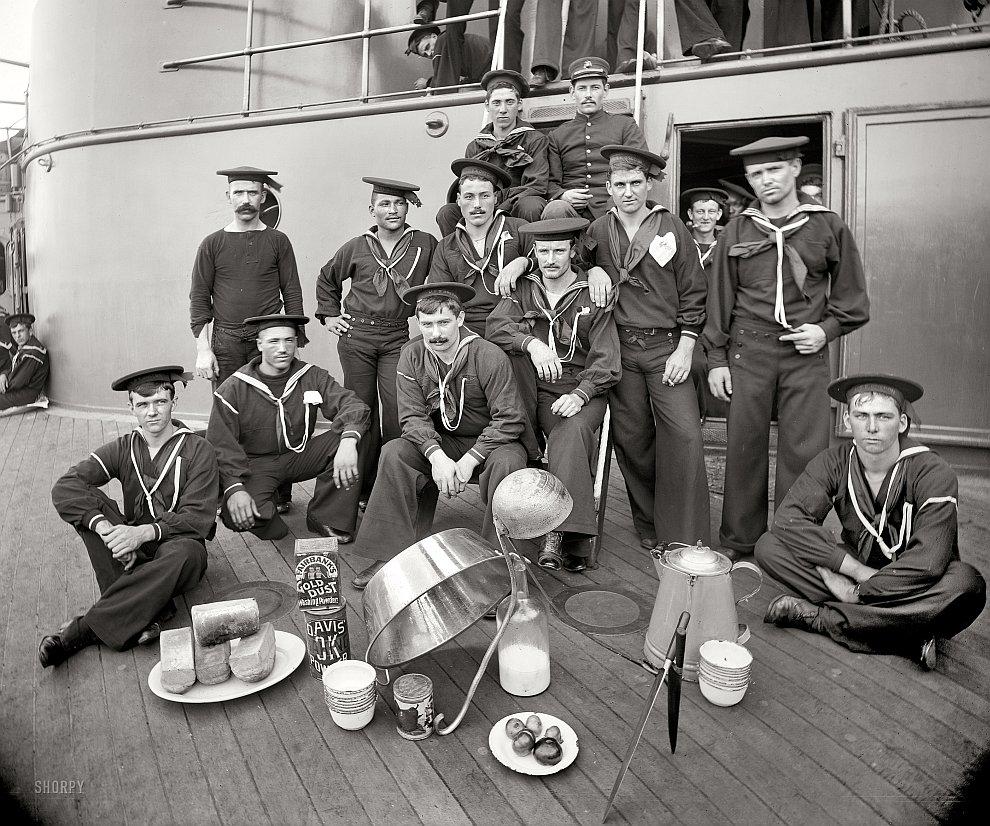 Моряки, 1897 год