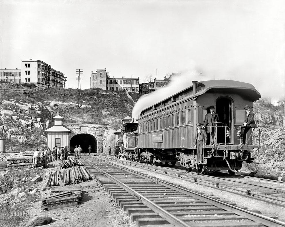 Тоннель в Нью-Джерси, 1900 год