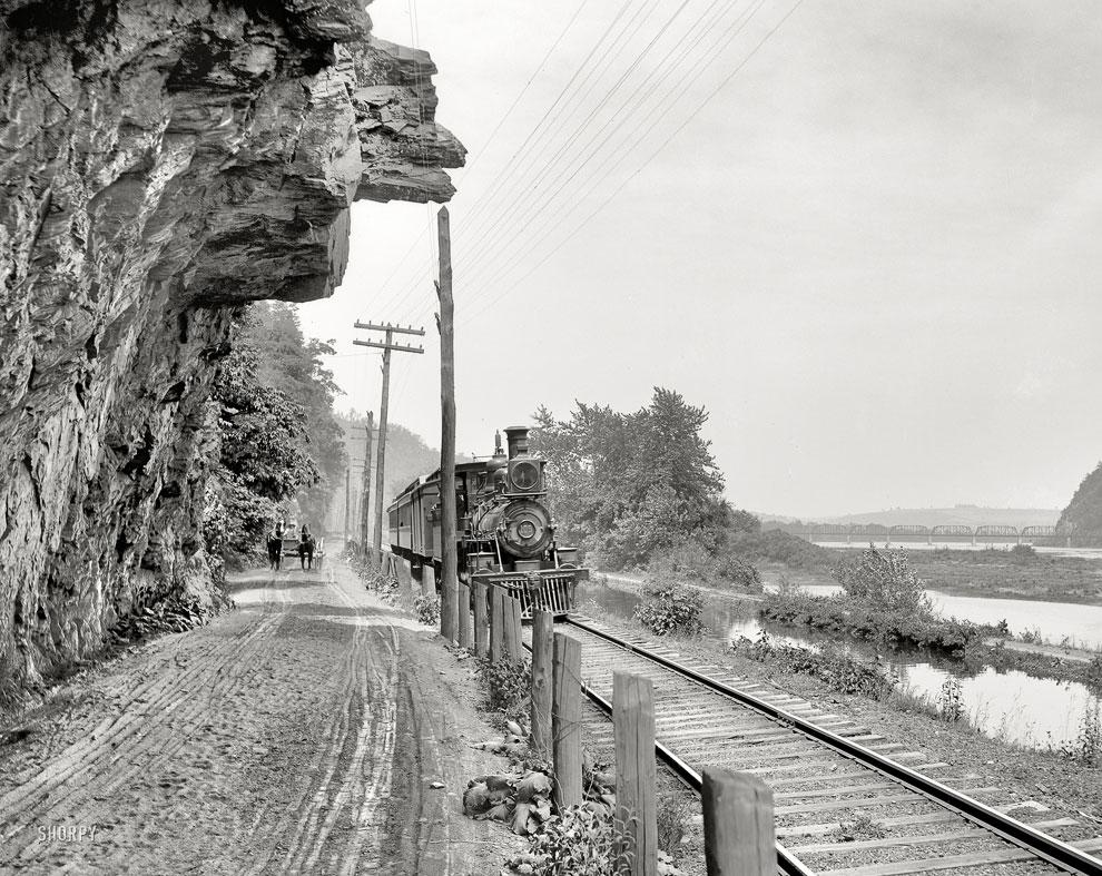 Дорога в Пенсильвании, 1900 год