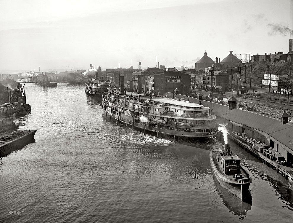 Кливленд, 1905 год