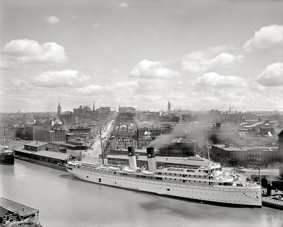 Город Баффало, штат Нью-Йорк, 1905 год