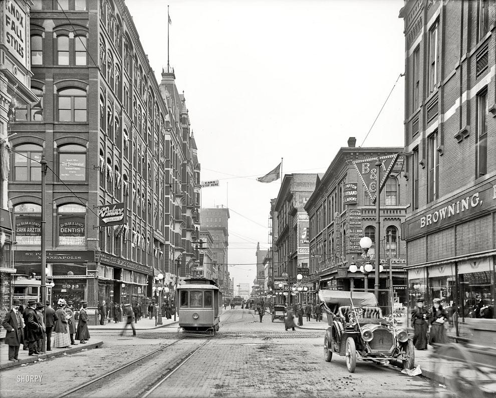 Сент-Пол, штат Миннесота, 1908 год