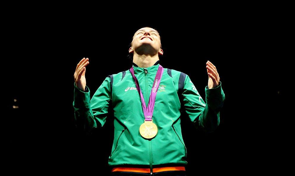 Кэти Тэйлор из Ирландии стала олимпийской чемпионкой по боксу