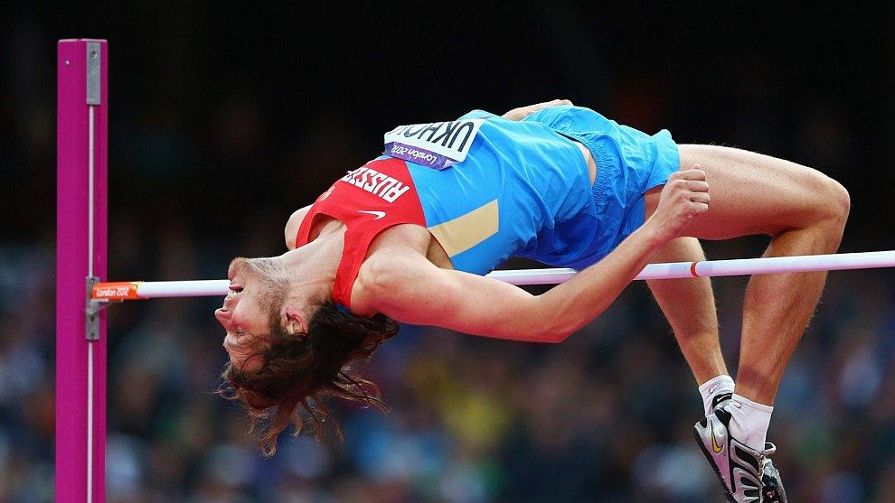 Российский прыгун в высоту Иван Ухов стал олимпийским чемпионом Лондона
