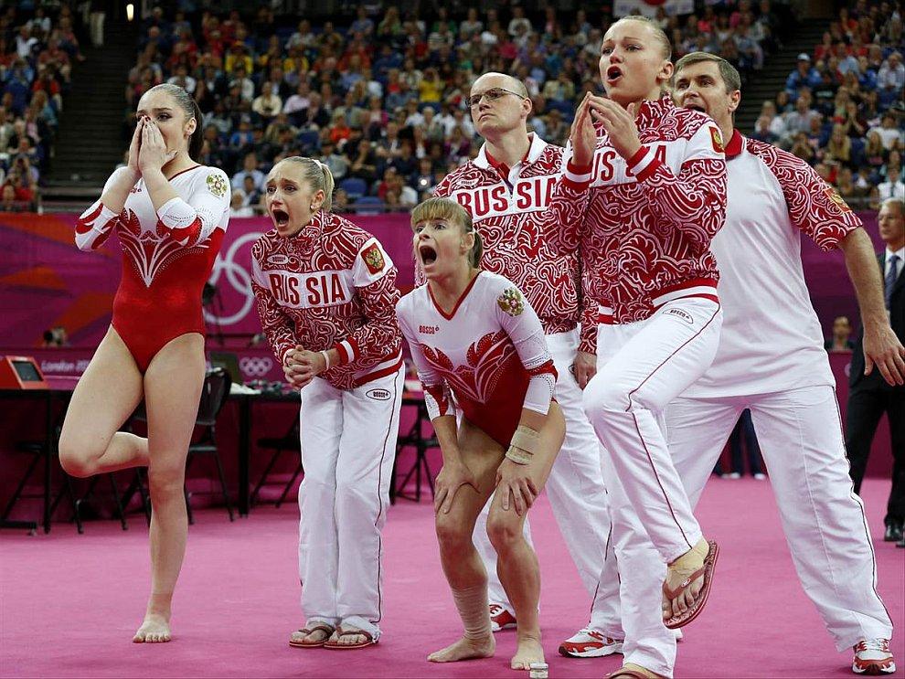 Российская гимнастка Ксения Афанасьева