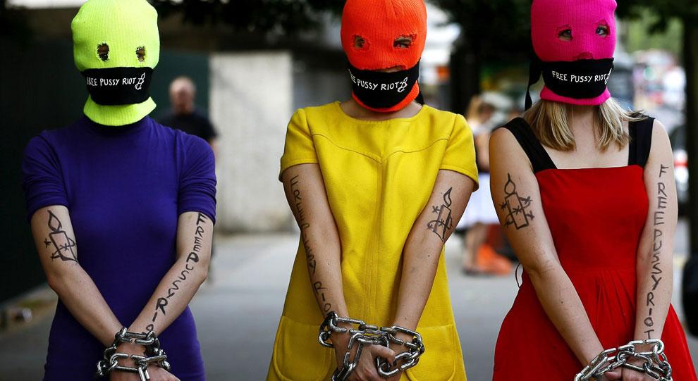 Международная акция в поддержку Pussy Riot