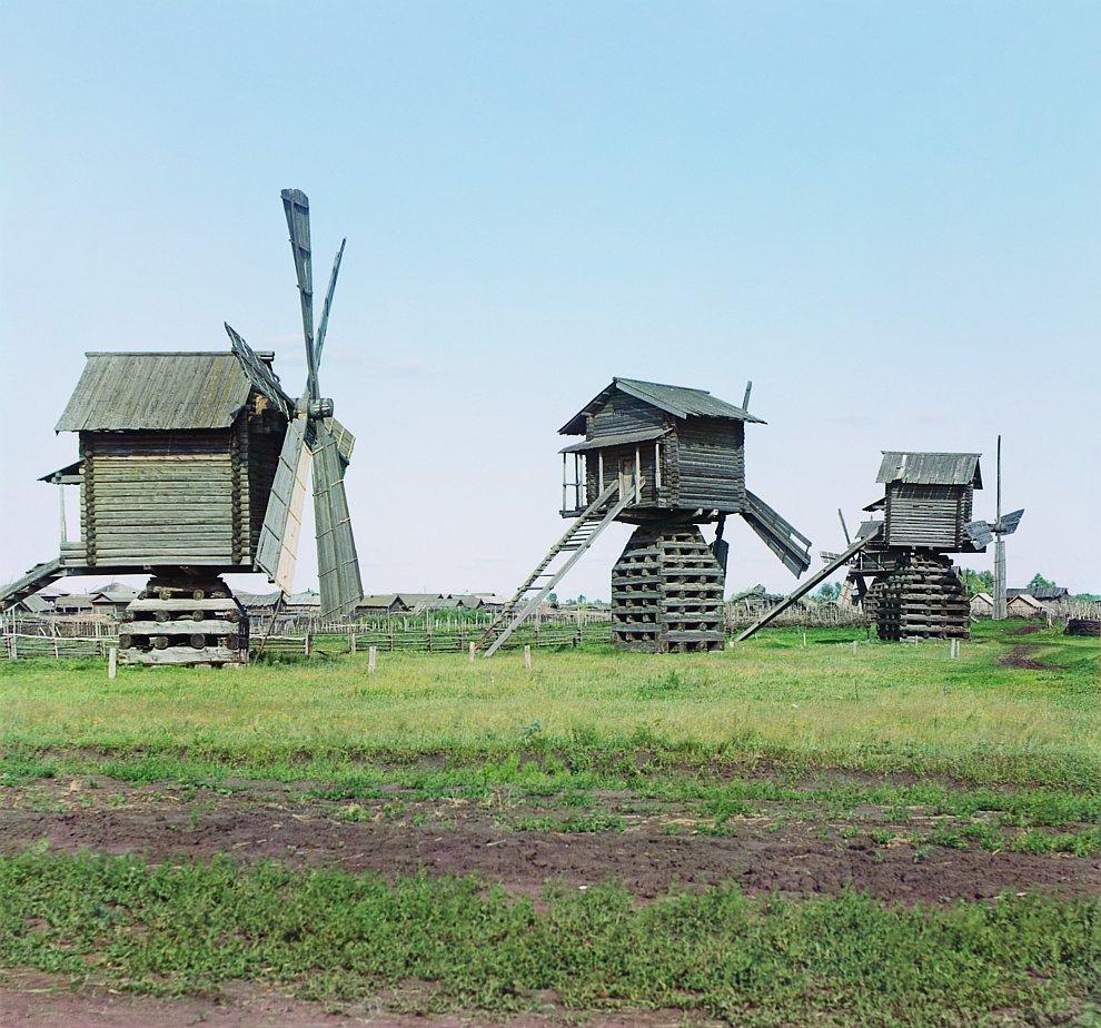 Мельницы в Ялуторовском уезде Тобольской губернии, 1912 год