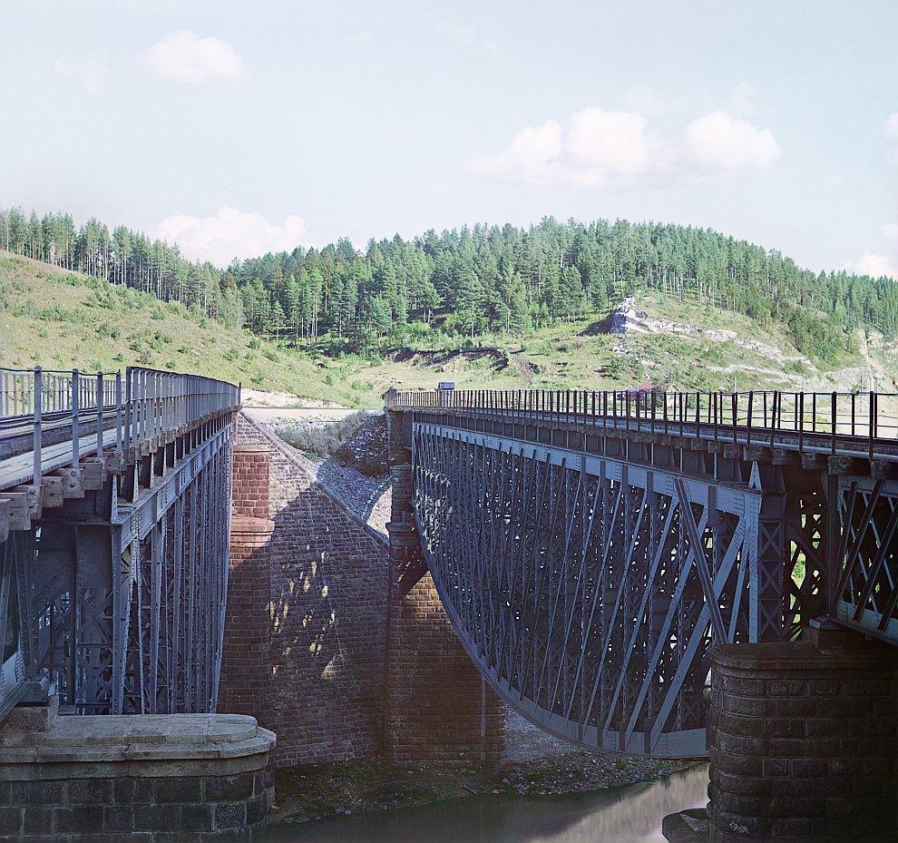 Республика Башкортостан. Юрезанский мост, 1910 год