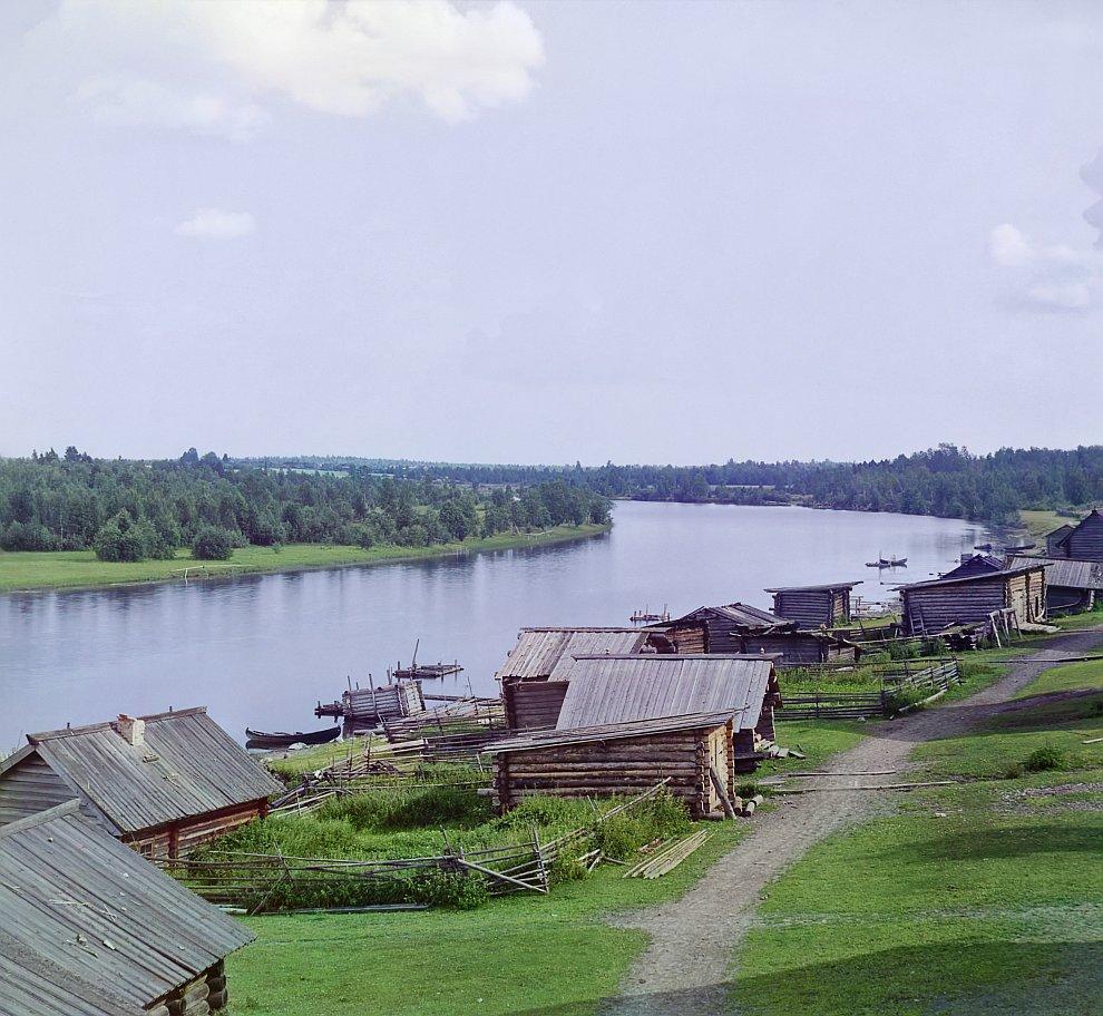 Республика Карелия, Река Шуя, 1916 год
