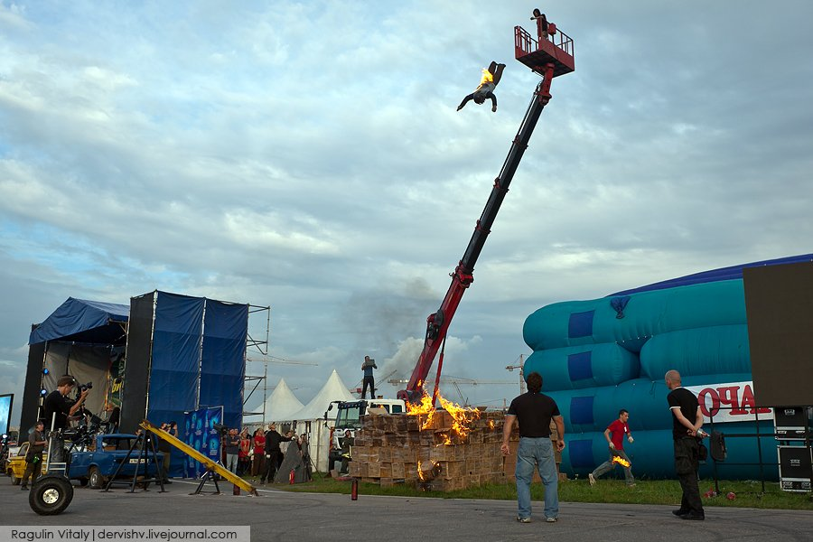 Международный фестиваль каскадеров «Прометей»