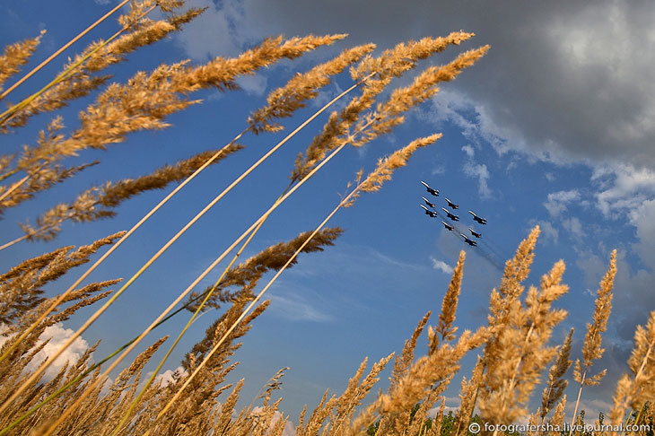 100-летие ВВС России: воздушный парад
